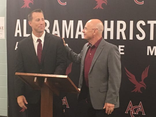 Alabama Christian athletic director Scott Galloway,