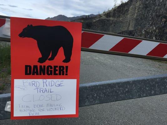 AP BEAR MAULING TEEN DIES A USA AK