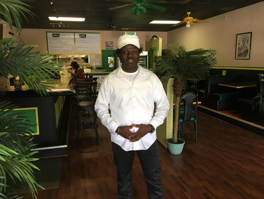 Colin Gregg, who owns Irie-I Jamaican American Cafe