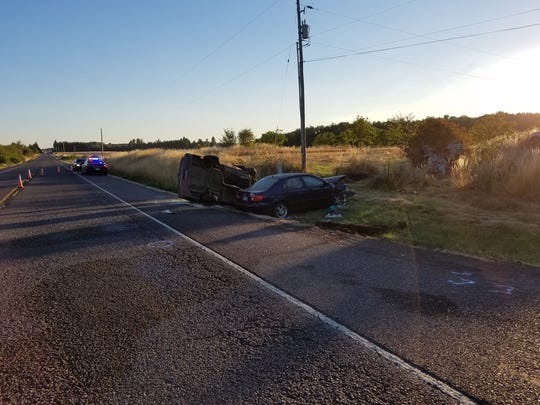 Cherlyn Lewis, 57, was delivering Statesman Journal newspapers  when the car she was travelling in collided with another car on Saturday, July 22, 2017.