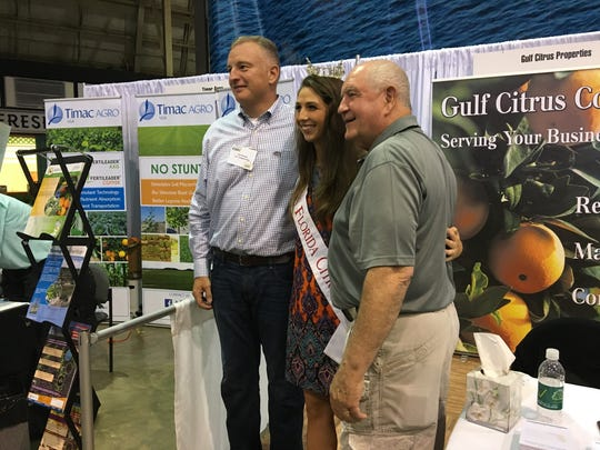 U.S. Rep. Tom Rooney, Miss Florida Citrus Rachel Smith