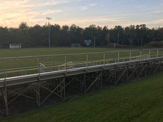 Geneseo Central School District's football stadium