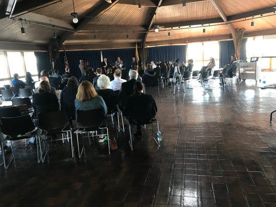 Meadowlands Regional Chamber meeting.