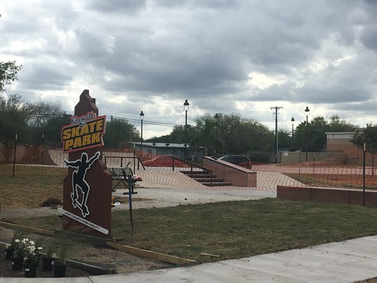 The Kingsville Skate Park was opened to skaters Friday evening after it was constructed by SPA Skateparks in Austin.