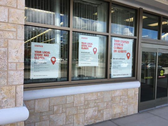 The 20,000-square-foot Staples store at Coral Walk closed in early December.