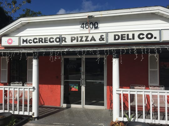 New owners took over McGregor Pizza in Fort Myers in September.