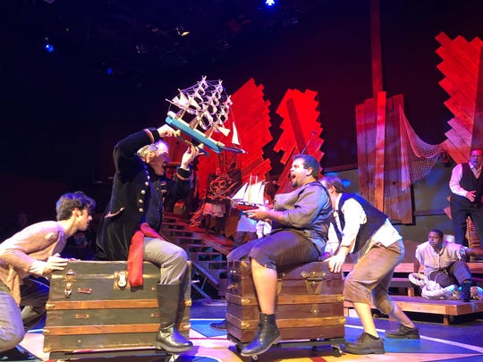 """Be Theatre presents """"Peter and the Starcatcher"""" in its debut in its new home: the black box theater in the San Angelo Performing Arts Center."""