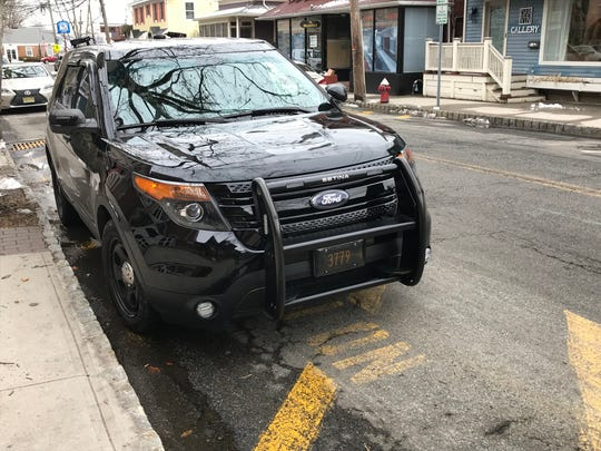 Piermont PD vehicle plate reader SUV