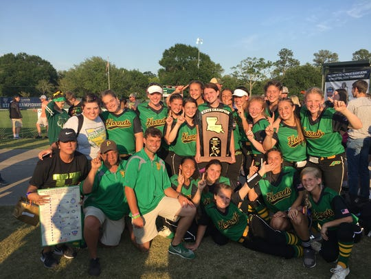 The Plainview Lady Hornets repeated as champions of