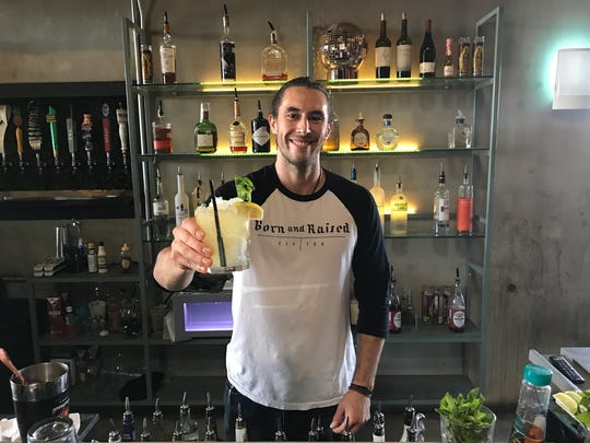 Born Tx Raised bartender Josh Stokes can whip up tasty cocktails for any festival celebration.