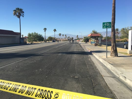 A shooting in Desert Hot Springs happened about 6 a.m. on Palm and Ironwood drives Tuesday morning.