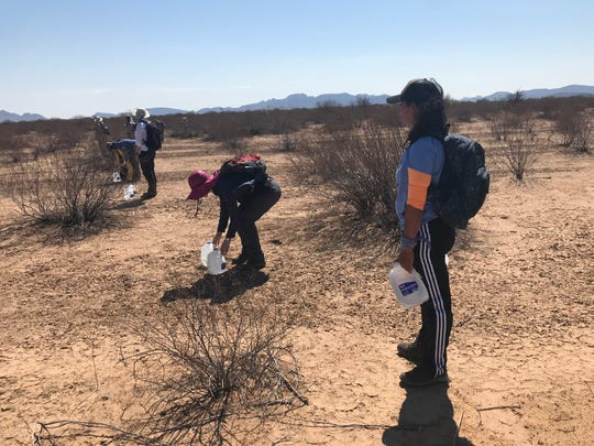 Volunteers with No More Deaths, Ajo Samaritans, and