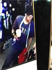 Suspect 1 in alleged robbery of Tmart.