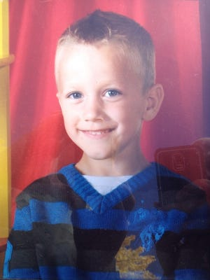 This is a picture of missing 5-year-old Corbin Dallas Cotter given to The Bulletin by his mother, Ashleigh Lewis.