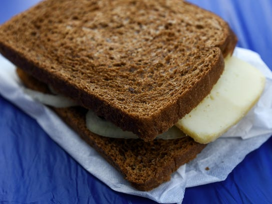 Limburger cheese and onion from Flying Pig Tails at