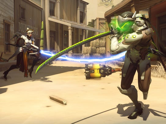 A scene from 'Overwatch.'