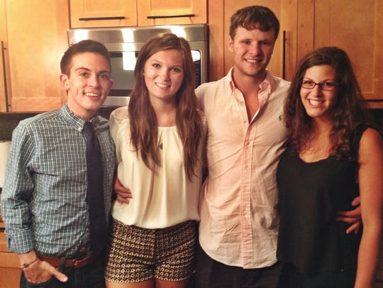Chris Colloton, Maggie Feazell, Otto Warmbier and Alex