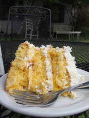 Save room for a piece of classic coconut cake or one
