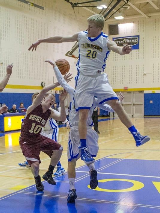 Trumansburg VS Whitney Point Boys V Basketball