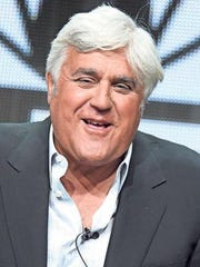 Comic Jay Leno comes to the Peace Center April 16.
