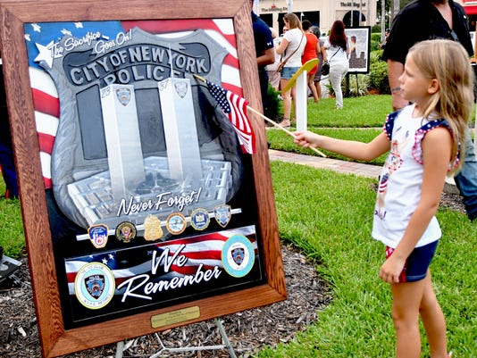 9/11 Memorial event at Avenue Viera