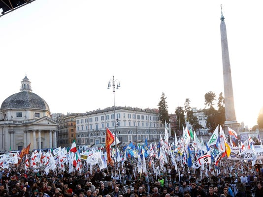 Italy Protest