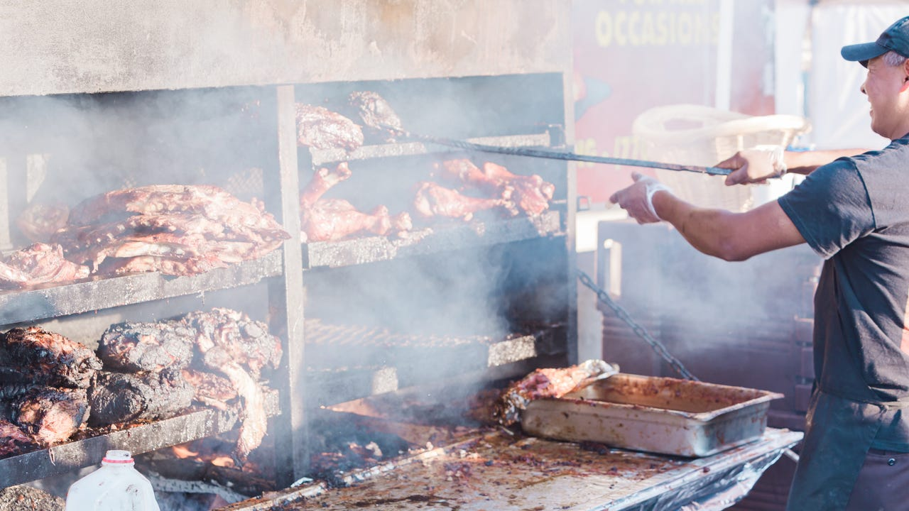 Big Moe Cason of Ponderosa BBQ talked to Food & Wine about how to cook pork shoulder for a crowd, and the essential tools you need for grilling.