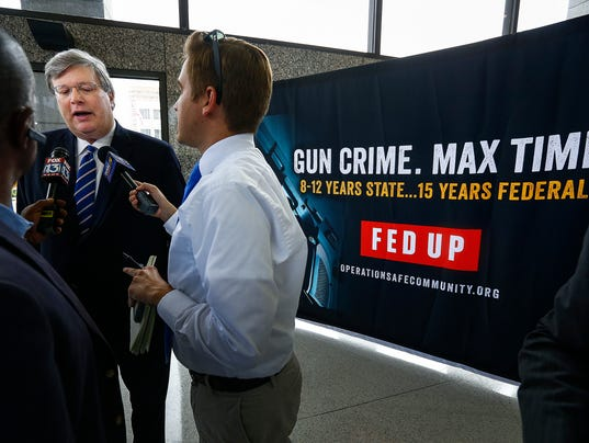 Gun Crime Fed Up LEAD