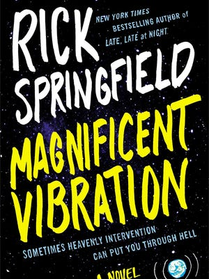 Magnificent Vibration by Rick Springfield, book cover.