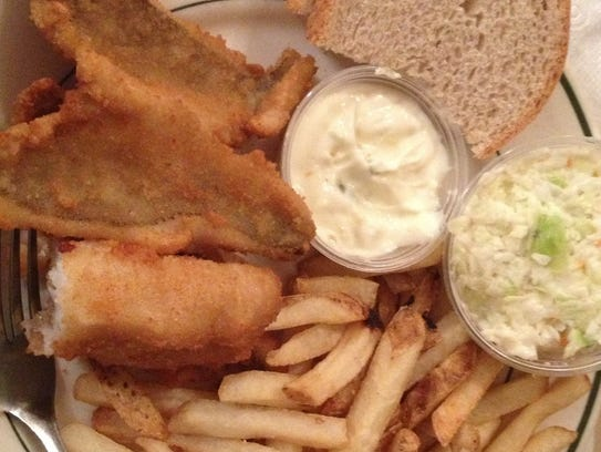 A traditional Wisconsin Friday night fish fry includes