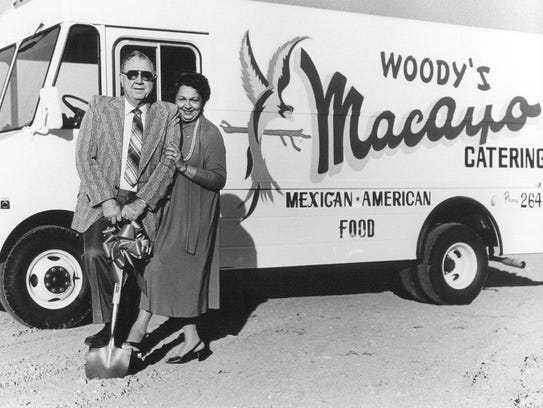 Photo of Macayo's founders Woody and Victoria Johnson.