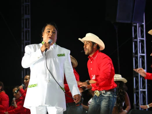 Juan Gabriel's son thanks public, chides others
