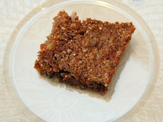 Carrot Kugel won Sheila Smith first place in the Savory
