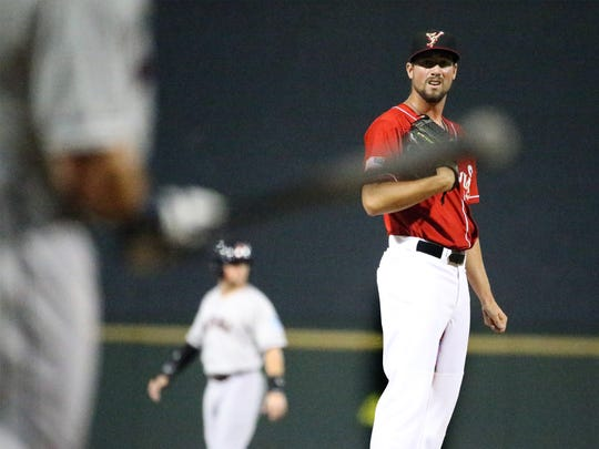 Chihuahuas pitcher Kyle McGrath readies for his first