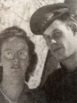 """Marie and Robert """"Pat"""" McCarty were married on June 15, 1946."""