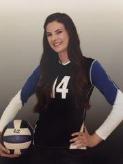 Glendale Cactus junior volleyball standout Brittnie