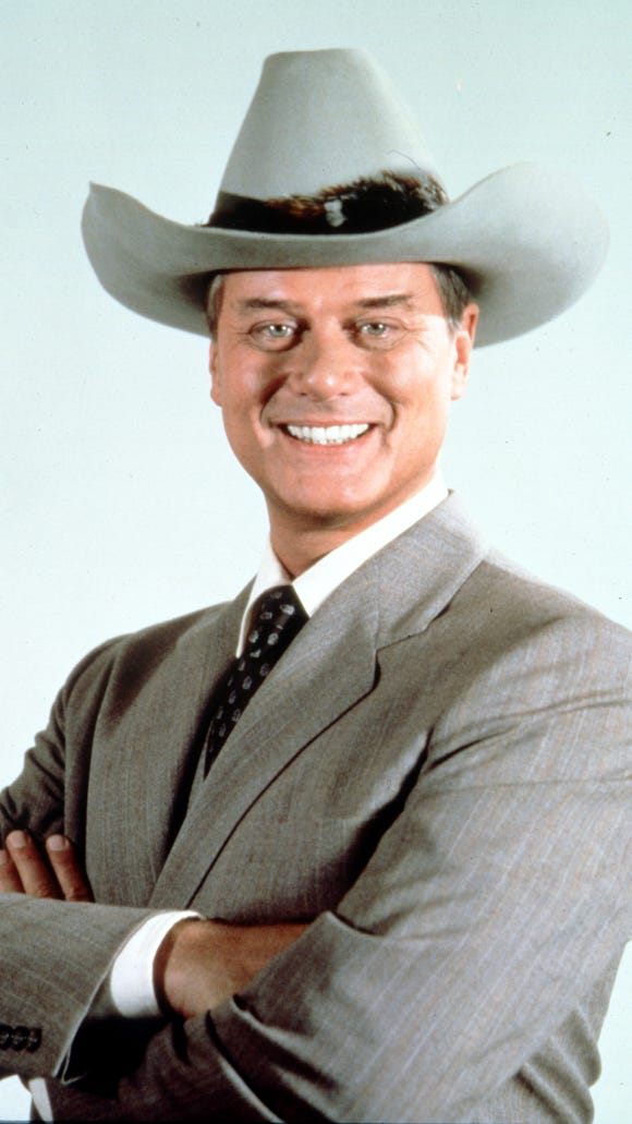 "Larry Hagman turned ""Dallas"" oilman J.R. Ewing into an all-time TV villain."