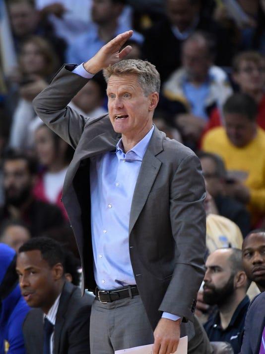 USP NBA: ORLANDO MAGIC AT GOLDEN STATE WARRIORS S BKN GSW ORL USA CA