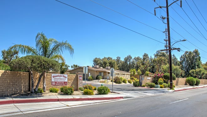 Mountain View Apartments is a 280-unit affordable housing complex in Cathedral City.