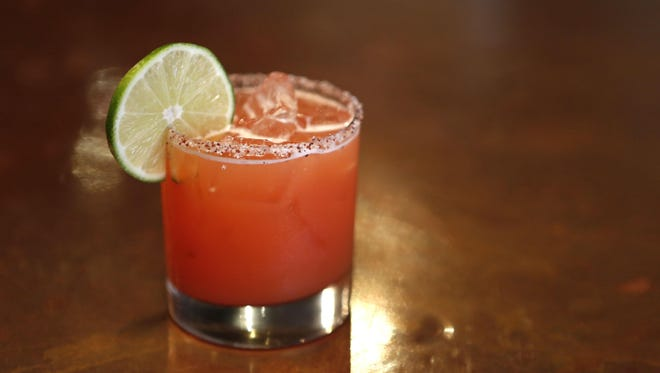 A Casper, a re-mixed version of the classic margarita, made by Paul Ritto at 8 North Broadway in Nyack.