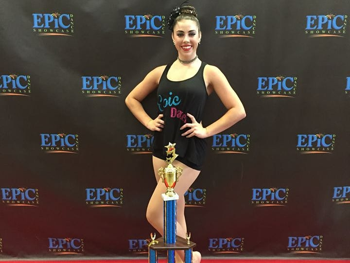 Recent Enka graduate Michaela Hannah has signed to dance in college for Milligan (Tenn.).