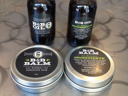 Louisville's Beards and Beers offers two locally-made, all-natural products for beardos.