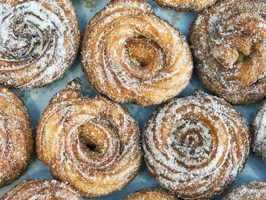 Churros have been an ice cream sandwich option at The Yummi Bunni, a Fort Wayne ice cream parlor coming to Indianapolis' Fountain Square neighborhood in summer 2018.