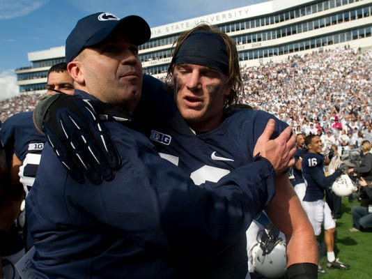 Coach Bill O'Brien and linebacker Mike Mauti are the big postseason winners for the Nittany Lions