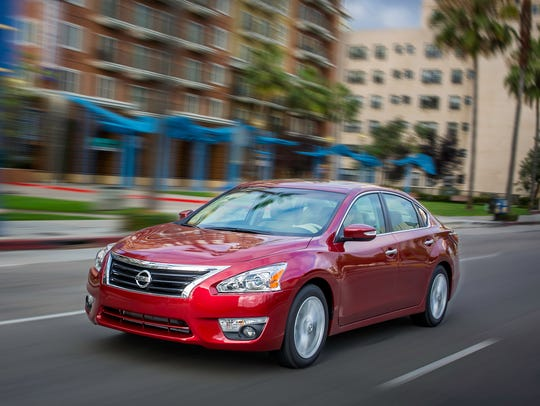 The 2015 Nissan Altima is Nissan's best-selling vehicle