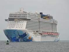 'Extreme gust of wind' causes Norwegian cruise ship to list, injuring passengers