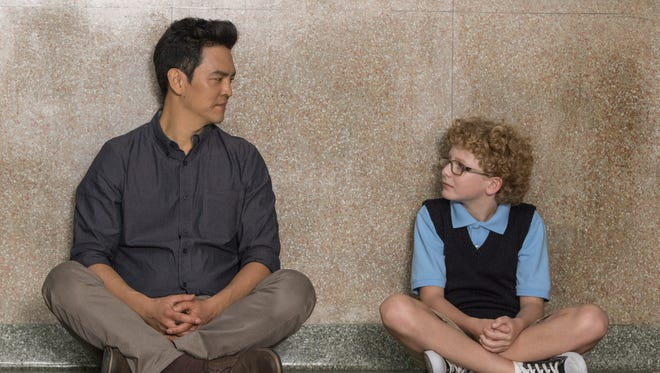 """John Cho (left) and Marcus Eckert star in """"A Happening of Monumental Importance."""""""