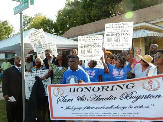 Boynton's honored in Selma 8-14.jpg