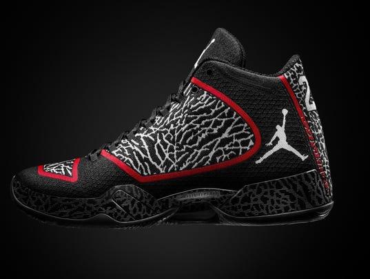 What's bigger than Michael Jordan? Gotta be the shoes