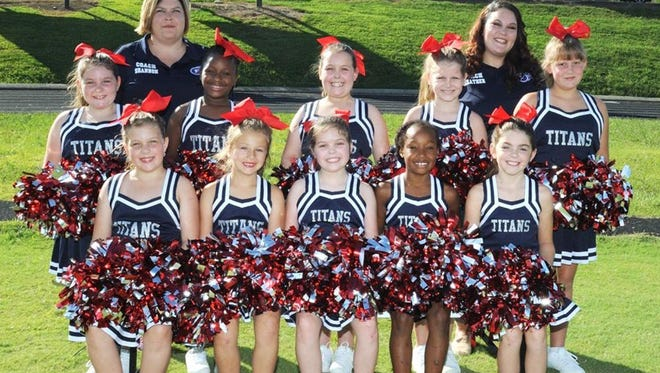 2017 Fairview Titan Minor Cheerleaders